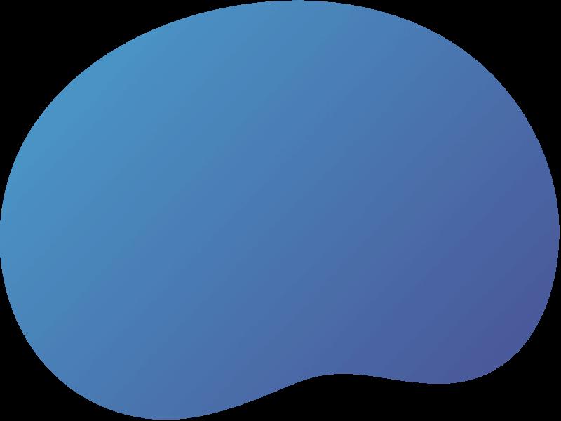gradient shape homepage